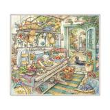 Pie Kitchen Giclee Print by Kim Jacobs
