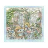In the Sunroom Giclee Print by Kim Jacobs