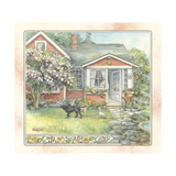 Redhouse Giclee Print by Kim Jacobs