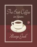 Bester Kaffee der Stadt Kunstdrucke von Paulo Viveiros