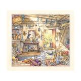 Potting Room Giclee Print by Kim Jacobs
