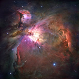 The Orion Nebula Was Born in Enormous Clouds of Gas and Dust Toile tendue sur châssis