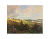 View of Lynchburg Giclee Print by Edward Beyer