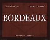 Bordeaux Kunstdrucke von Paulo Viveiros