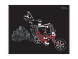 Biker Poster by  Emily the Strange