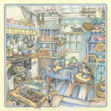 Cottage Kitchen Giclee Print by Kim Jacobs