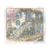 Morning Visitor Giclee Print by Kim Jacobs