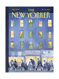 The New Yorker Cover - December 12, 2016 Regular Giclee Print by Carter Goodrich