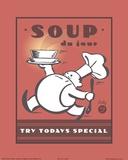 Suppen Kunstdruck von Paulo Viveiros