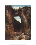 Natural Bridge Giclee Print by Flavius Fisher