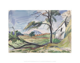 Autumn Fields [Rockbridge Baths] Giclee Print by Pierre Daura