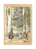 Greenhouse Door Giclee Print by Kim Jacobs