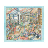 Quiltroom Giclee Print by Kim Jacobs
