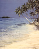 Tropical Inlet Print by Graham Brock