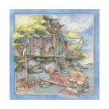 Shore House2 Giclee Print by Kim Jacobs