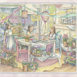Easter Party Giclee Print by Kim Jacobs