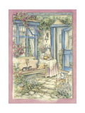Afternoon Tea Giclee Print by Kim Jacobs