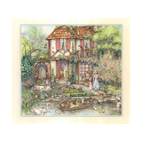 Riverside Cottage Giclee Print by Kim Jacobs