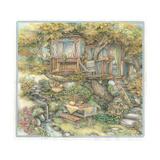 Tree House Giclee Print by Kim Jacobs