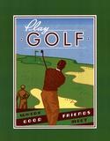 Golf spielen Poster von Paulo Viveiros