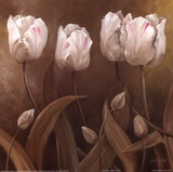 Sepia Tulips II Posters by Wendy Darker