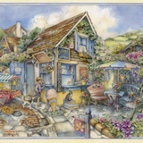 Cottage Ice Creams Giclee Print by Kim Jacobs