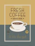Frischer Kaffee Kunst von Paulo Viveiros