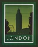 London Kunstdruck von Paulo Viveiros