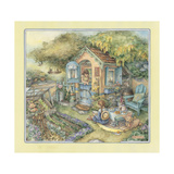 Our Little House Giclee Print by Kim Jacobs