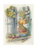 Harvest Stack of Bowls Giclee Print by Kim Jacobs