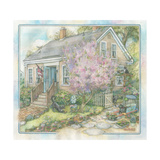 Janet's House Giclee Print by Kim Jacobs