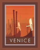 Venedig Kunstdruck von Paulo Viveiros