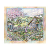 View from the Garden Giclee Print by Kim Jacobs