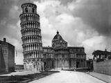 The Leaning Tower of Pisa, 1928 Photographic Print by Scherl Süddeutsche Zeitung Photo