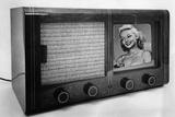 Historic Television Set, 1939 Photographic Print by Knorr Hirth Süddeutsche Zeitung Photo
