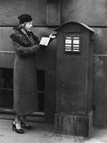 Women's Fashion, 1934 Fotografiskt tryck av Scherl Süddeutsche Zeitung Photo