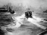 Prohibition: Coast Guard Searching for Rum-Runners in New York, 1928 Photographic Print by Scherl Süddeutsche Zeitung Photo