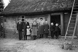 Farming Family in Pomerelia, 1939 Photographic Print by  Süddeutsche Zeitung Photo