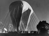 Stratospheric Balloon of the Belgian Scientist Cosyns, 1934 Photographic Print by Scherl Süddeutsche Zeitung Photo