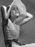 Hat Fashion for Women, 1934 Poster von Scherl Süddeutsche Zeitung Photo