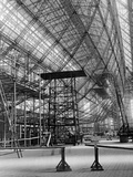 "Skeleton Structure of the Zeppelin Lz129 ""Hindenburg"", 1933 Photographic Print by Scherl Süddeutsche Zeitung Photo"