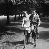 Bicycle Excursion in Brandenburg Photographic Print by Scherl Süddeutsche Zeitung Photo