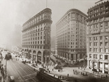 The Financial District in San Francisco Photographic Print by Scherl Süddeutsche Zeitung Photo