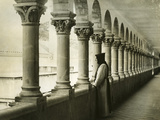 Cloister of the Monastery Notre-Dame De Lérins in France, 1933 Photographic Print by  Süddeutsche Zeitung Photo