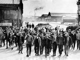 Striking Workers in St. Denis, 1936 Photographic Print by Scherl Süddeutsche Zeitung Photo