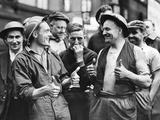 British Firemen, 1940 Photographic Print by  Süddeutsche Zeitung Photo
