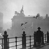 Berlin in the Mist, 1934 Photographic Print by Scherl Süddeutsche Zeitung Photo