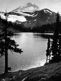 Chain Lake and Mount Baker, 1931 Photographic Print by  Süddeutsche Zeitung Photo