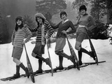 Winter Sportswear for Women, 1926 Photographic Print by Scherl Süddeutsche Zeitung Photo
