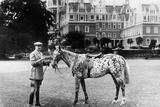Earl Arnim Muskau in Front of Castle Muskau, 1926 Photographic Print by  Süddeutsche Zeitung Photo
